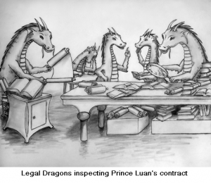 Legal dragons at work