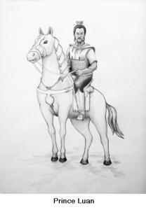 Prince Luan's Arrival