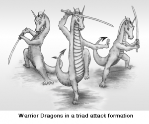Warrior dragons